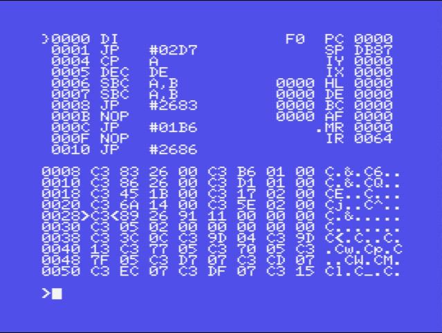 Iniciarnos en Ensamblador en nuestro MSX