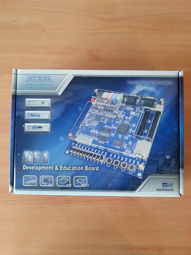 MSX con FPGA Altera DE1 sin conectores (1/6)